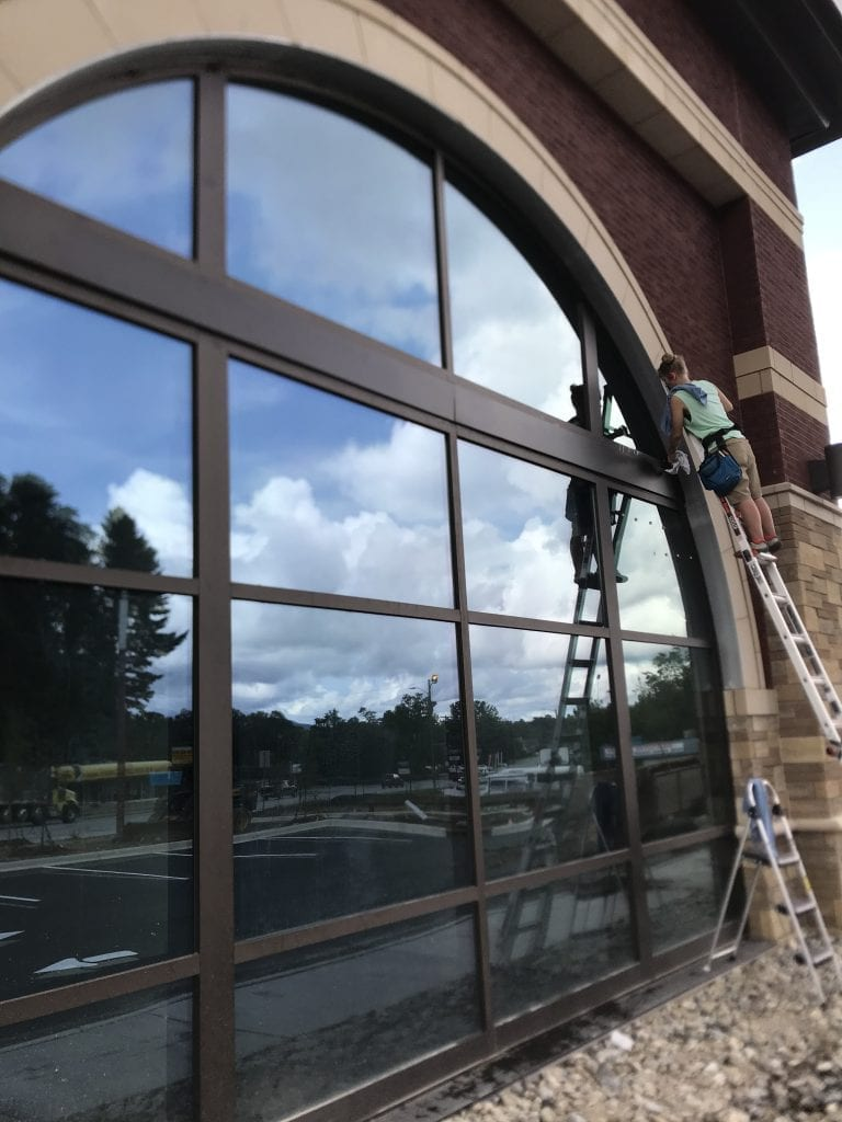 Hendersonville's Most Trusted + Reliable Window Cleaning Company