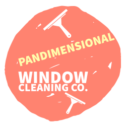 Pandimensional Window Cleaning Co. Logo