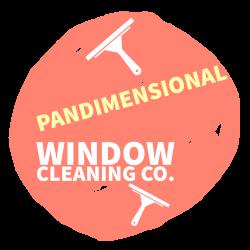 Pandimensional Window Cleaning Co. Logo